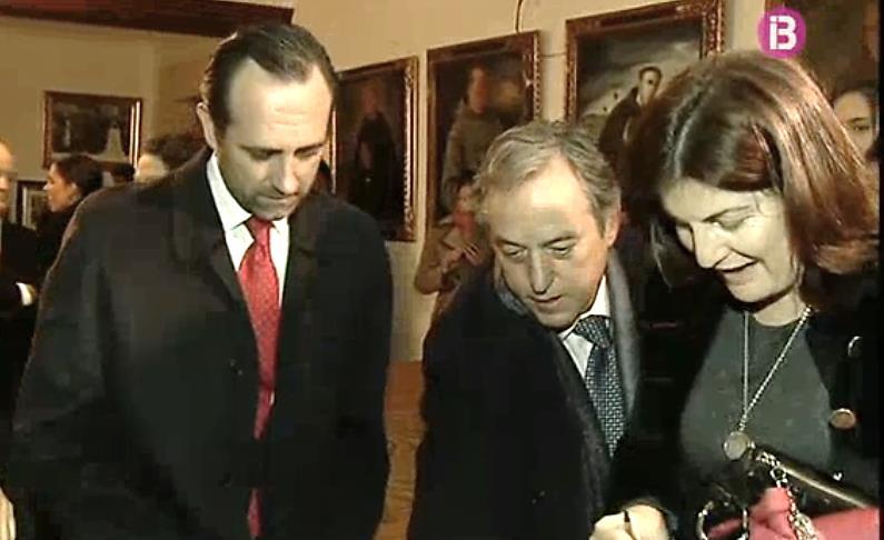 Presidente Bauza y Presidente Fundacion Casa Serra en Museo